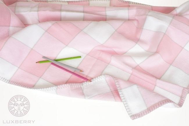 Плед детский LUXBERRY VANESSA розовый 100х150