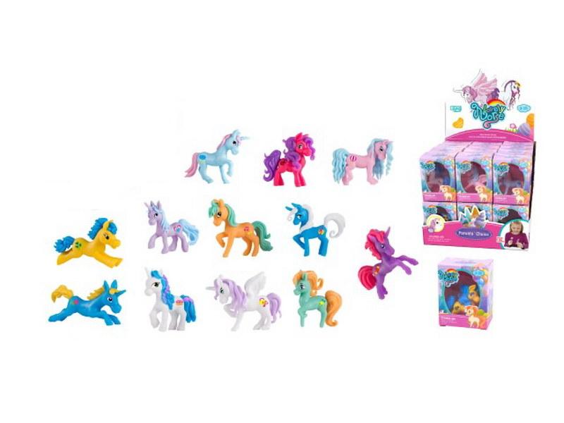 Купить Пони, в дисплее 24 штук, цена за штуку!, Junfa toys,