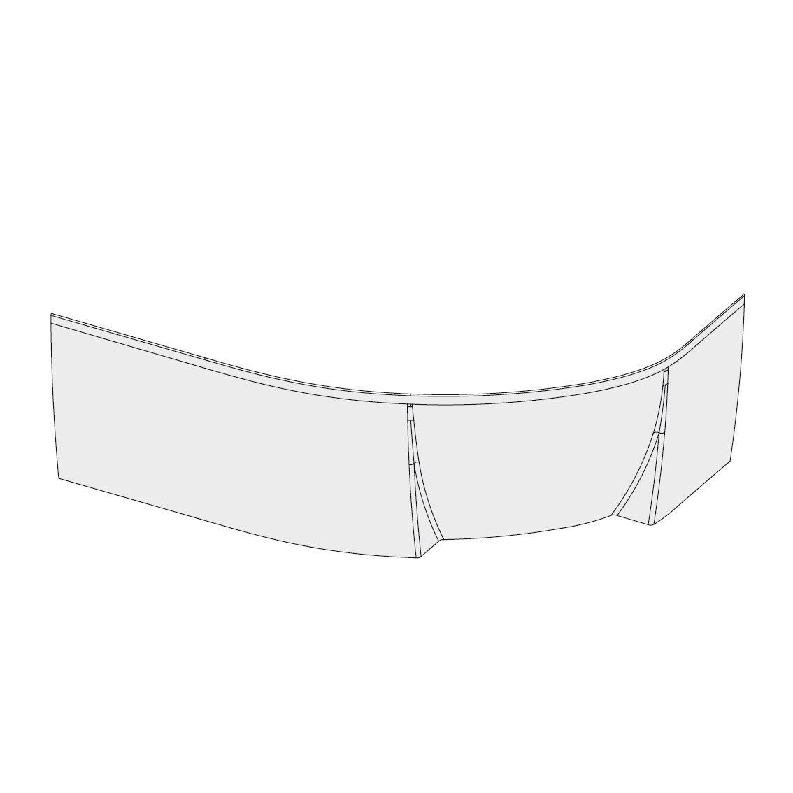 Передняя панель Ravak A для ванны Ravak Rosa II L 150, CZK1200A00 фото