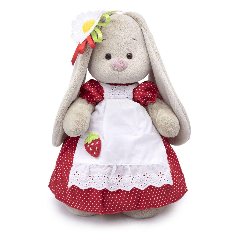 Купить Мягкая игрушка BUDI BASA Зайка Ми Земляничка, Мягкие игрушки животные