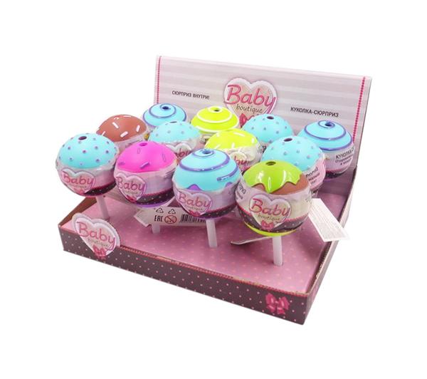 Купить Пупс-куколка в конфетке, серия Baby boutique PT-01065/1 в ассортименте, ABtoys, Пупсы
