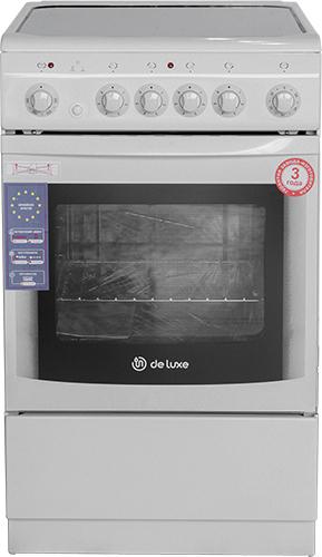 Электрическая плита DeLuxe 506004.03 ЭС White