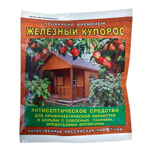 Средство защиты от вредителей Ортон 2220401 Железный купорос 250 г.