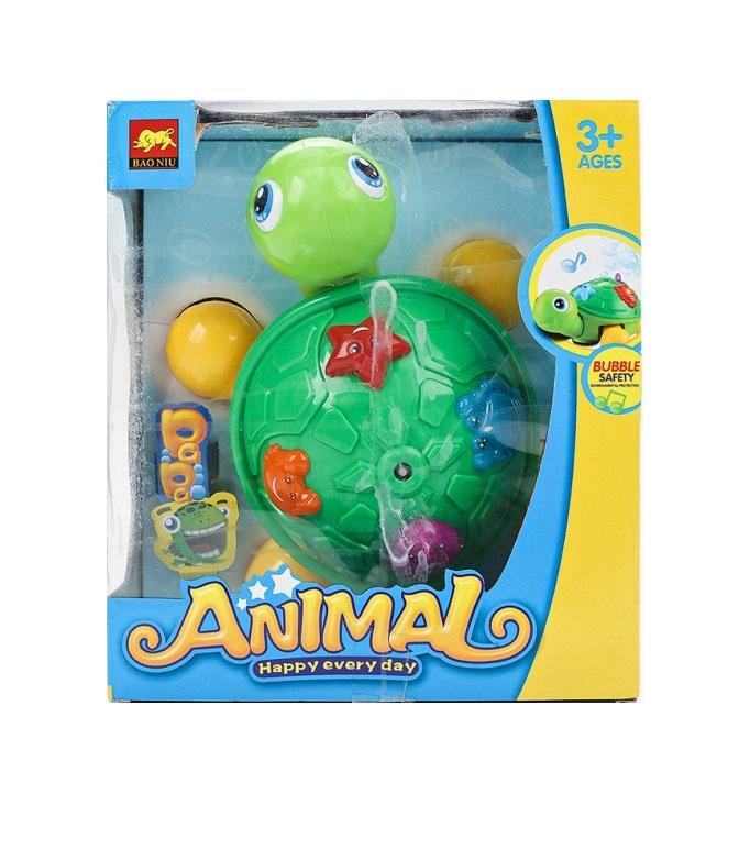 Набор для мыльных пузырей Junfa toys Черепашка