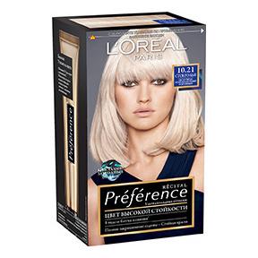 Краска для волос L\'Oreal Paris Preference оттенок 10,21 Стокгольм