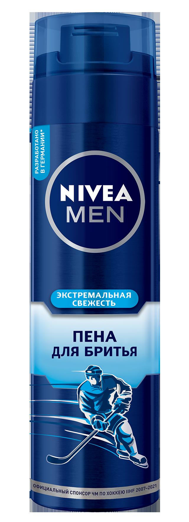 Пена для бритья NIVEA Освежающая 200 мл