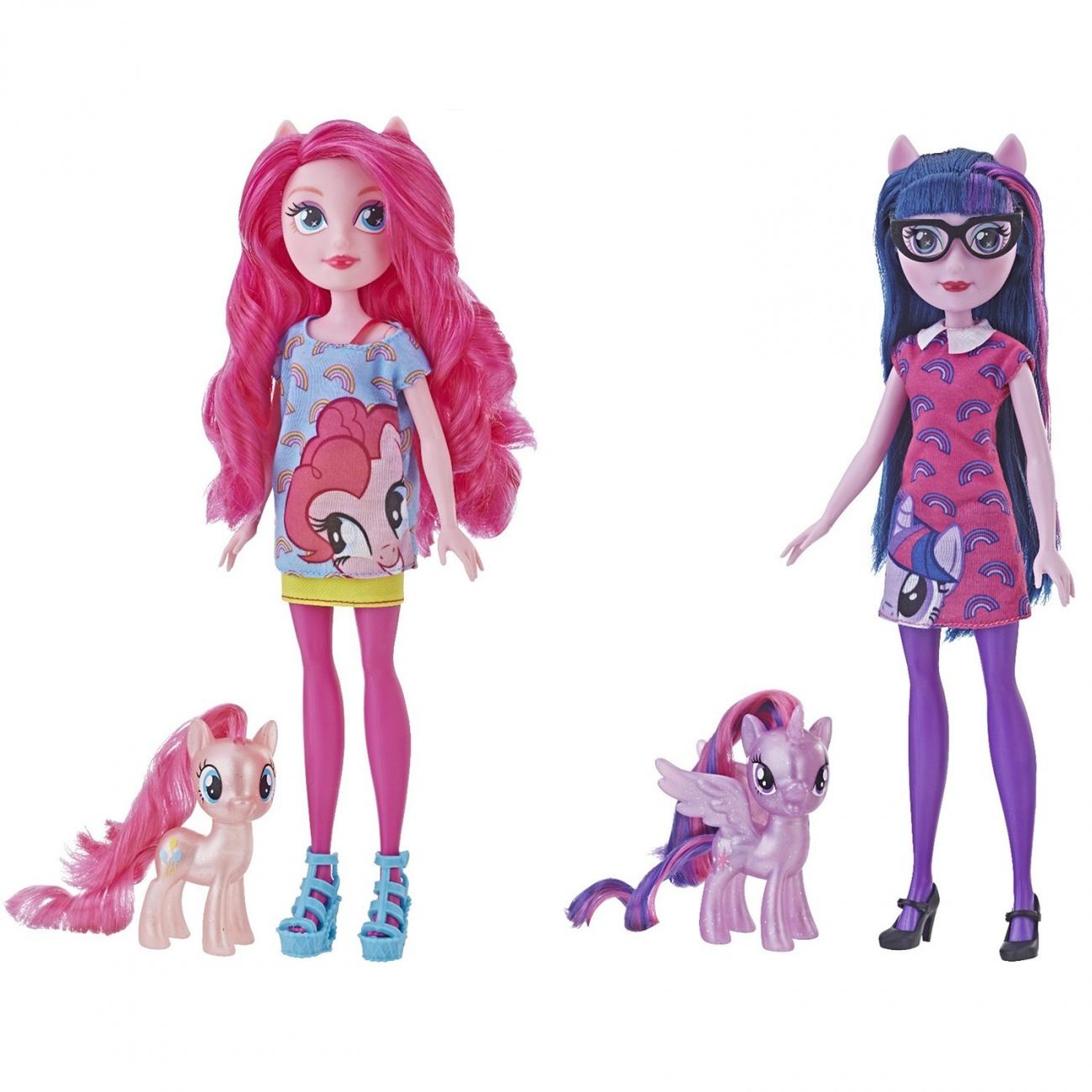 Купить Игровой набор My Little Pony Equestria Girls Пони и кукла Девочки Эквестрии в ассортименте, Hasbro,