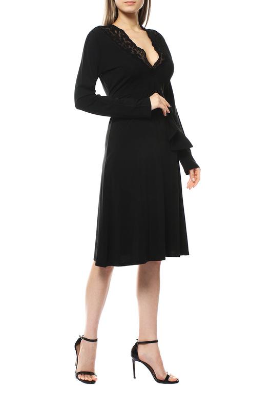 Повседневное платье женское Valentino Roma CANA5D0 черное 44