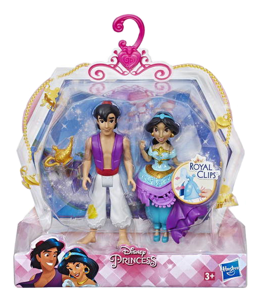 Disney Princess. Фигурка Принецессы Дисней с принцем , S19 Hasbro
