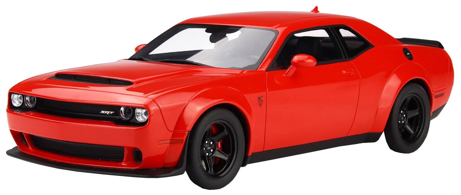 Купить Машина металлическая Rmz City 1:64 Dodge Challenger Srt Demon 2018, Uni-Fortune,