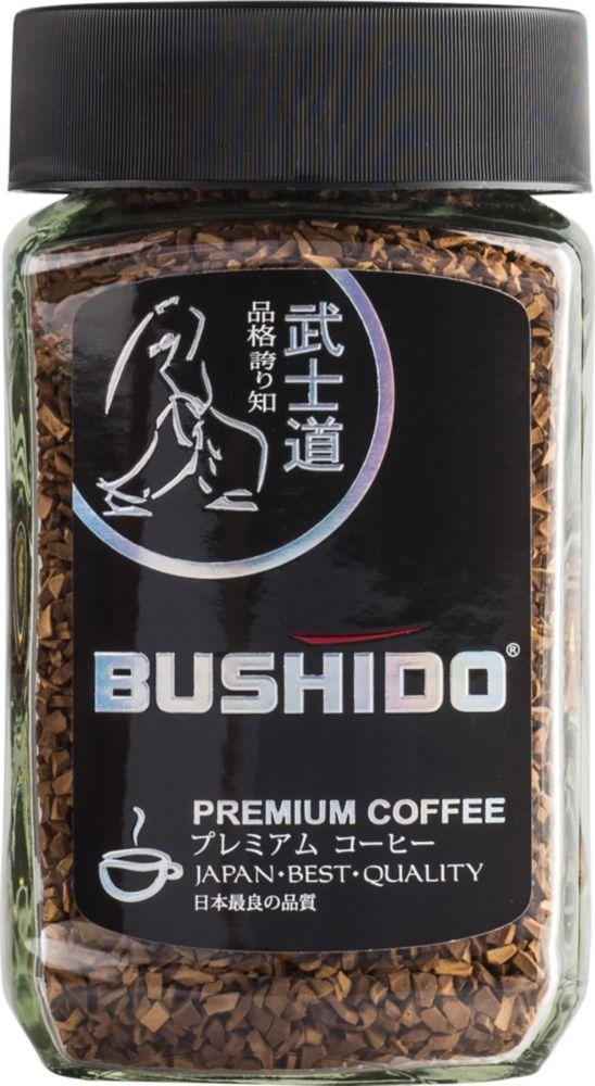 Кофе растворимый Bushido black katana 100 г фото
