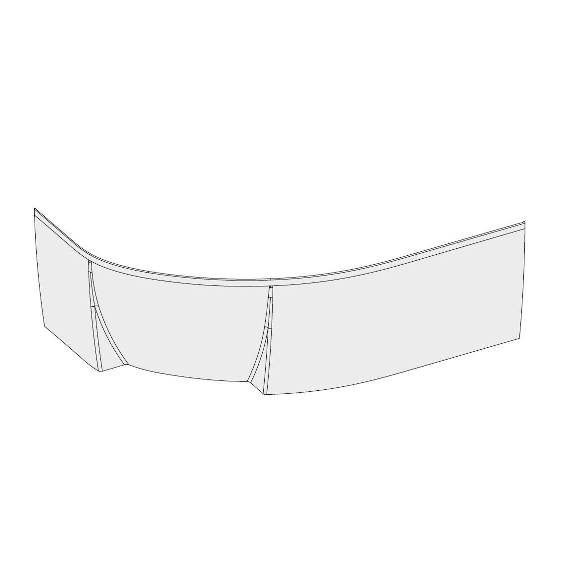 Передняя панель Ravak A для ванны Ravak Rosa II P 150, CZJ1200A00 фото