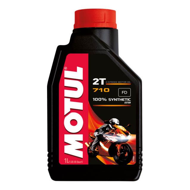 Моторное масло Motul 710 2T 10W-30 1л 106607