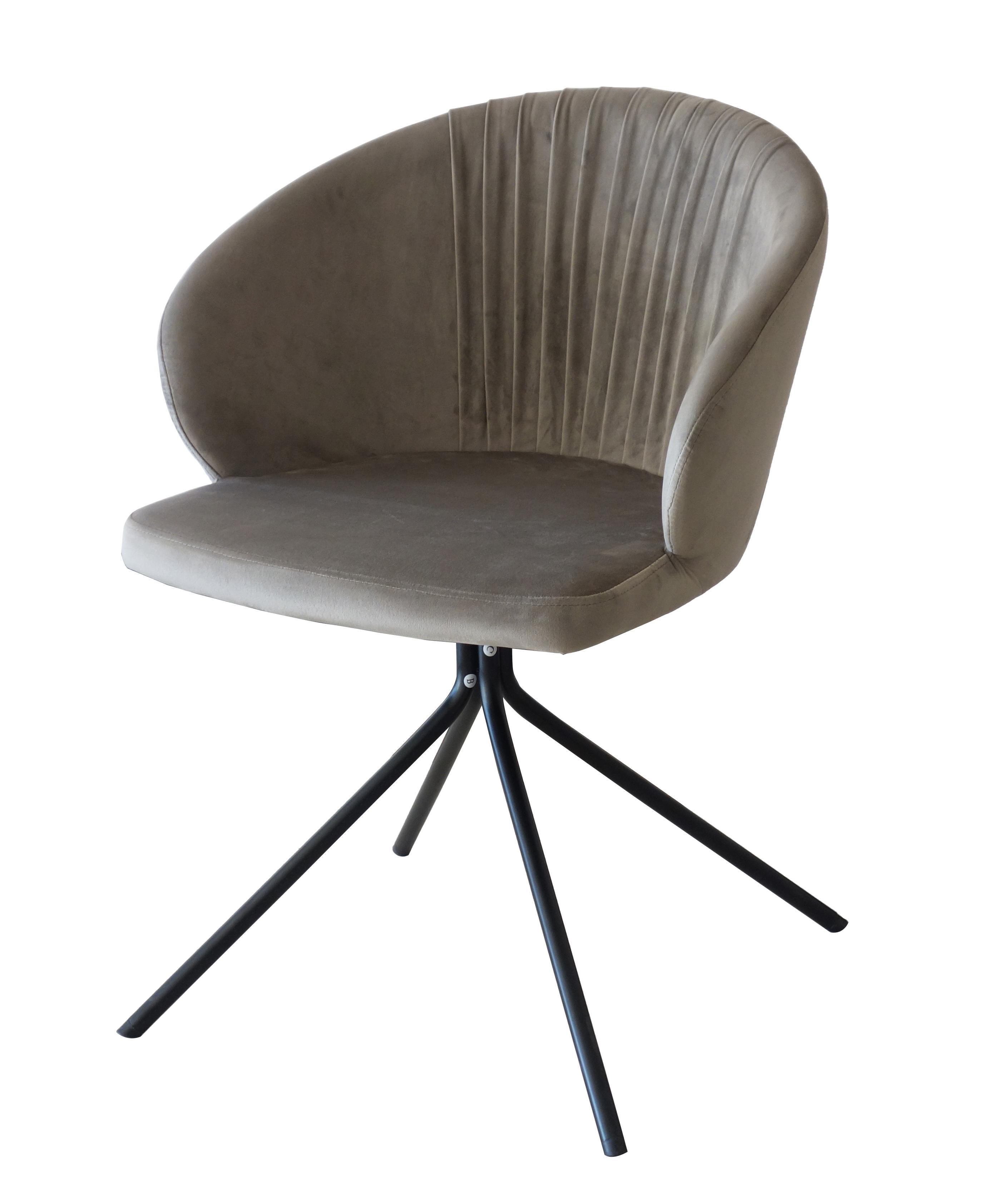 Стул Bradex Home FR 0248 Verona Round, табачно-серый