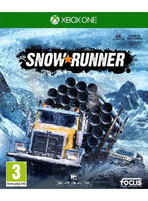 Игра SnowRunner для Xbox One Sony