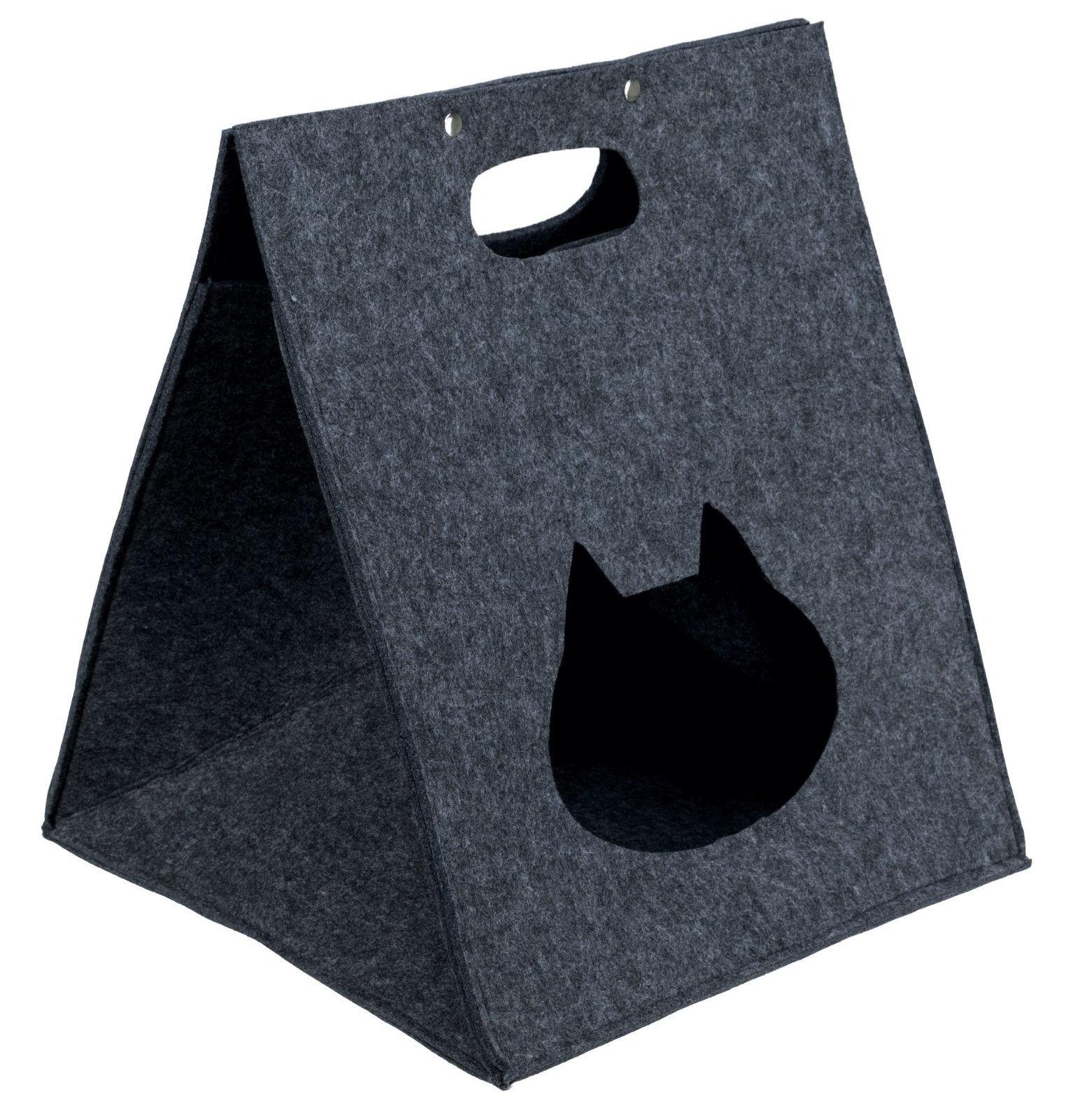 Домик для собак TRIXIE Antonia, серый, 40x40x48см