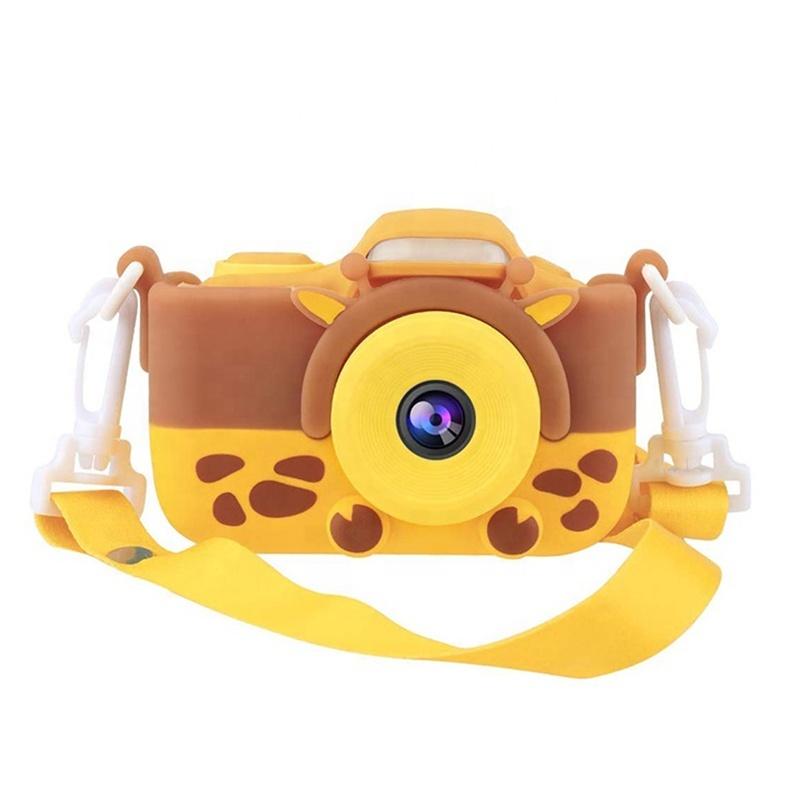 Купить Фотоаппарат детский со вспышкой SmileZoom Жираф,