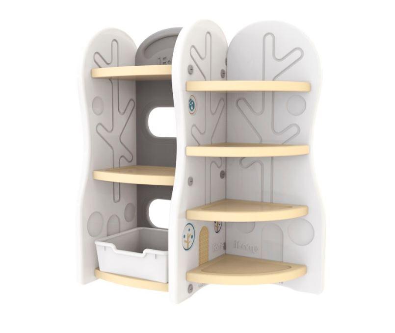 Стеллаж для игрушек iFam DesignToy 7, бежевый