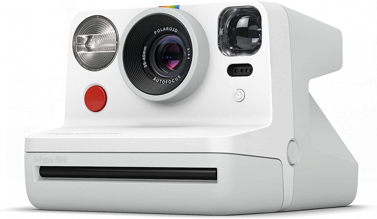 Фотоаппарат моментальной печати Polaroid Now (White)