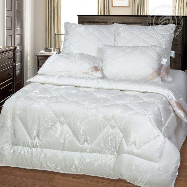 Одеяло 74 (эвкалипт 300/сатин жаккард) 1,5 спальное