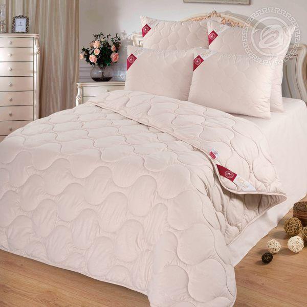 Одеяло 72 (шерсть верблюжья 200/микрофибра) 2 спальное