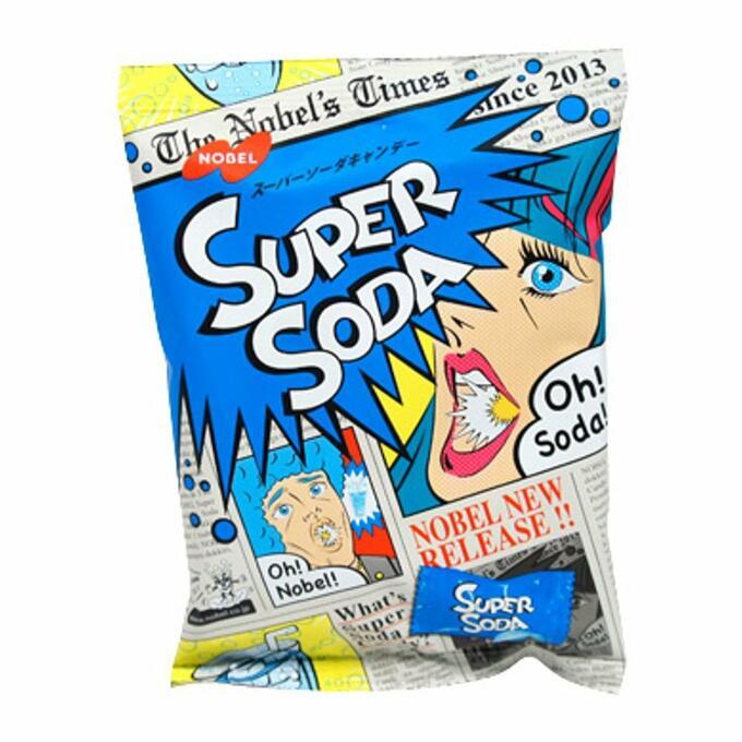 Леденцы Nobel Super Soda со вкусом Содовой 88 гр.