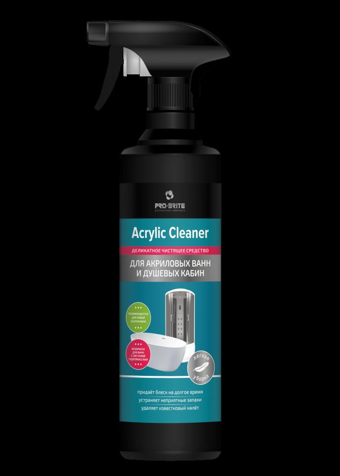 Деликатное чистящее средство для акриловых поверхностей