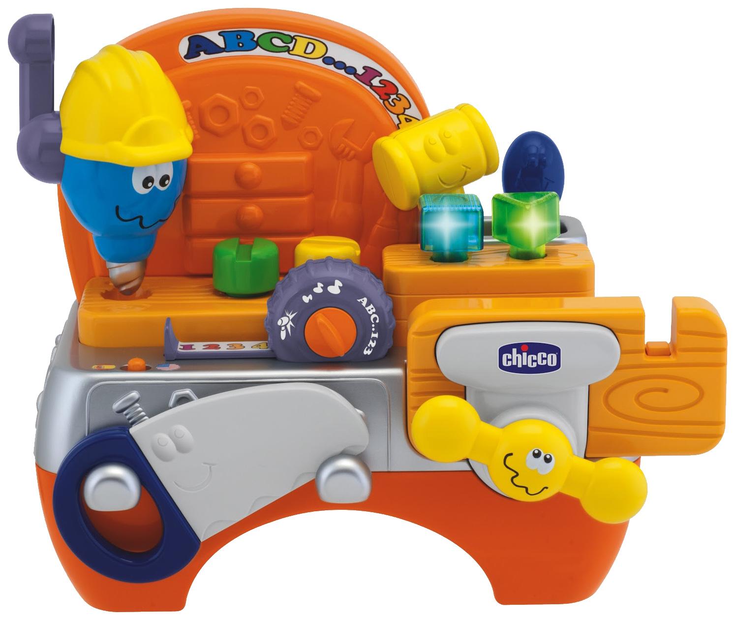 """CHICCO TOYS 69032AR Говорящая игрушка """"Плотник"""""""