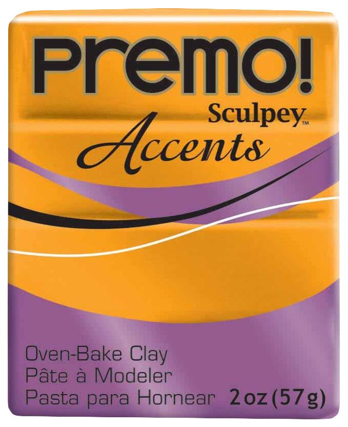 Купить Набор полимерной глины Sculpey Premo 57 г под золото PE02 5303,