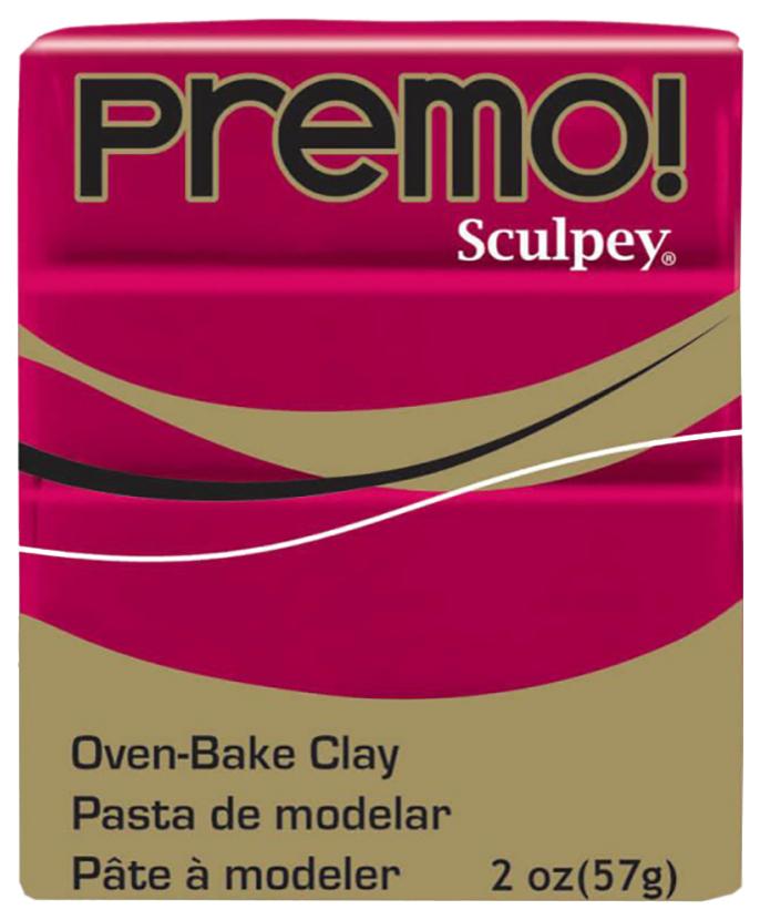 Купить Набор полимерной глины Sculpey Premo 57 г малиновый PE02 5383,