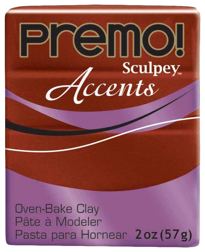 Купить Набор полимерной глины Sculpey Premo 57 г под бронзу PE02 5519,