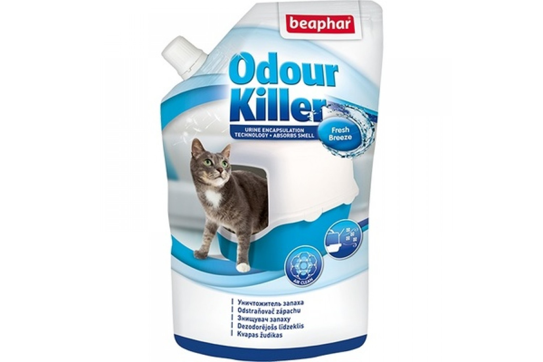 Устранитель запаха для кошачьих туалетов Beaphar Odour