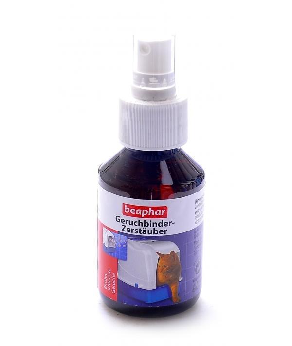 Спрей дезодорант для кошачьих туалетов Beaphar Geruchbinder