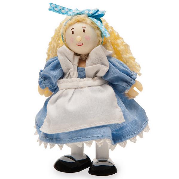 Купить Девочка в синем платье Le Toy Van BK992, Классические куклы