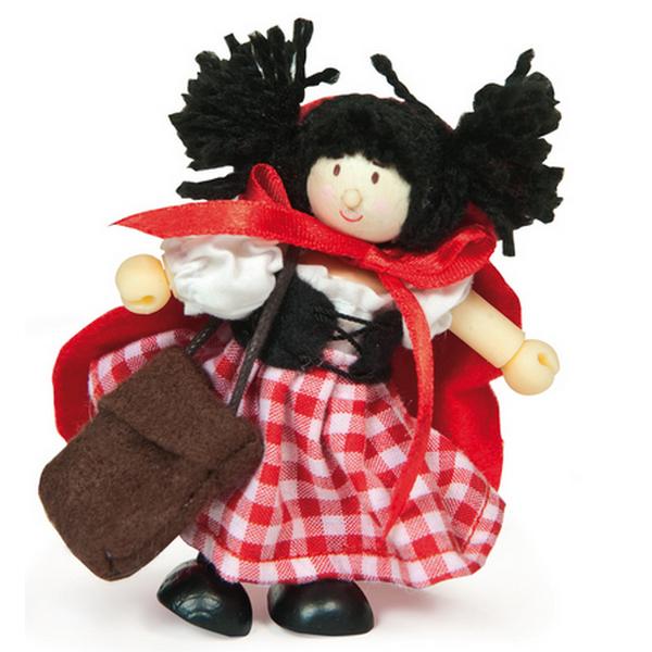 Купить Девочка в красном платье Le Toy Van BK993, Классические куклы