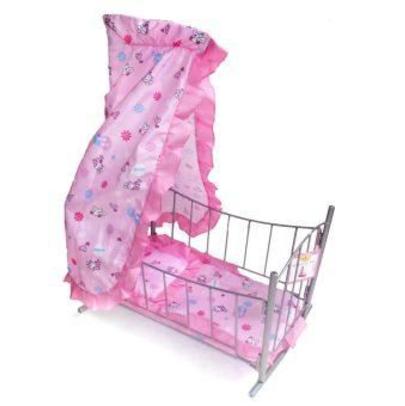 Кровать-качалка для кукол MELOBO 9349, Мебель для кукол  - купить со скидкой