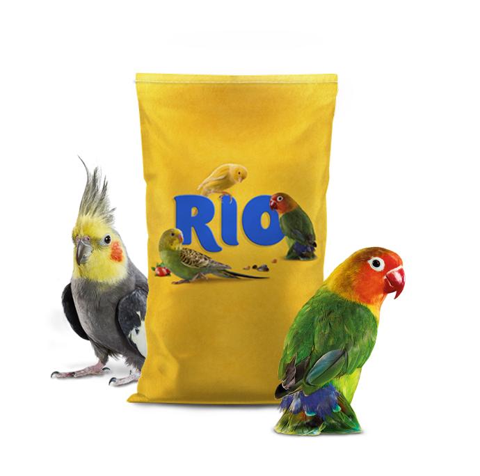 Основной корм RIO Parakeets для средних попугаев,