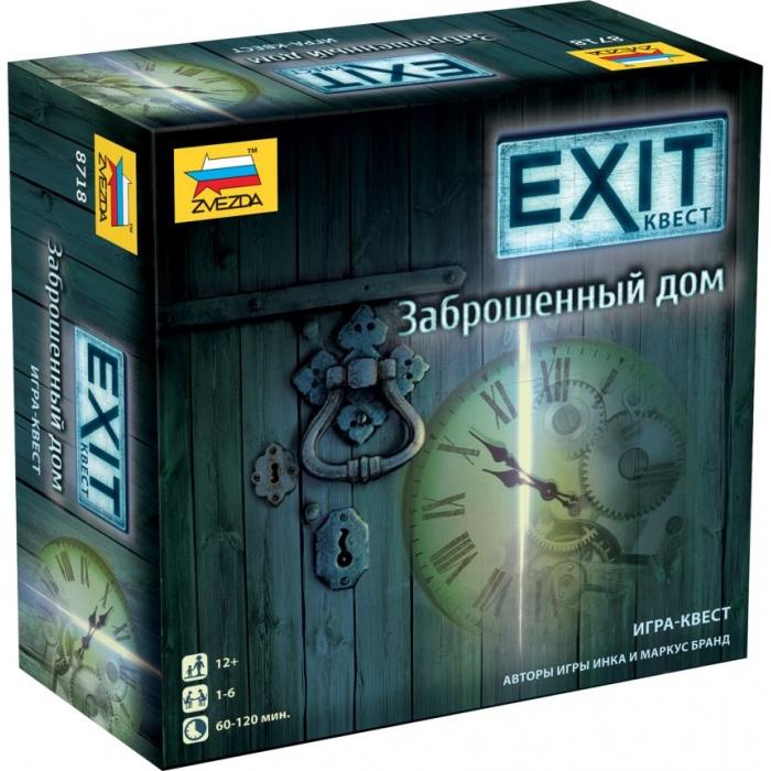 Игра настольная Zvezda Exit Квест Заброшенный дом фото