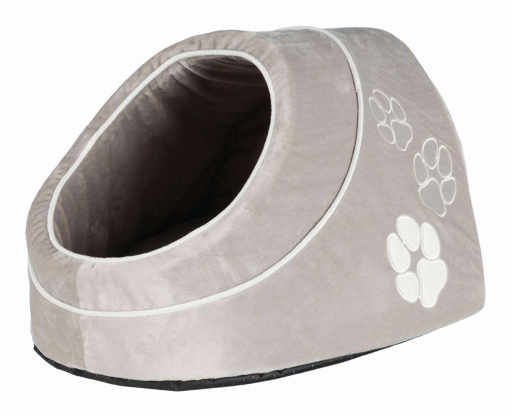 Домик для кошек и собак TRIXIE Nica, серый, белый, 41x26x35см