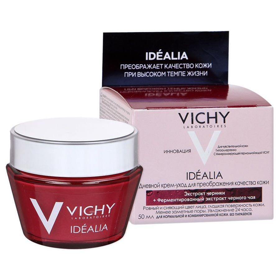 Крем для лица VICHY Idealia для нормальной и комбинированной кожи 50 мл фото
