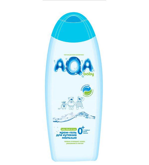 Гель для купания детский AQA BABY