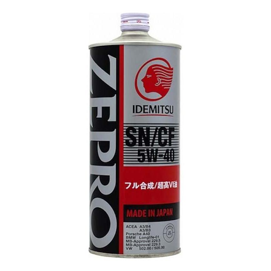 Моторное масло Idemitsu Zepro Euro Spec 5W-40 1л 1849-001