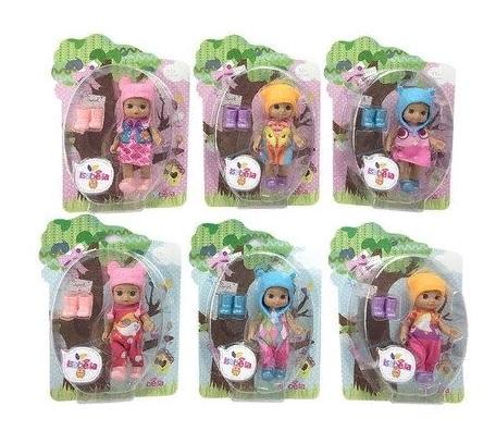 Купить Кукла 6 видов, 14x5, 5x21 см YL1701A, Shantou Gepai, Классические куклы