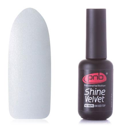 Купить PNB, Топ для гель-лака Shine Velvet No Wipe, 8 мл