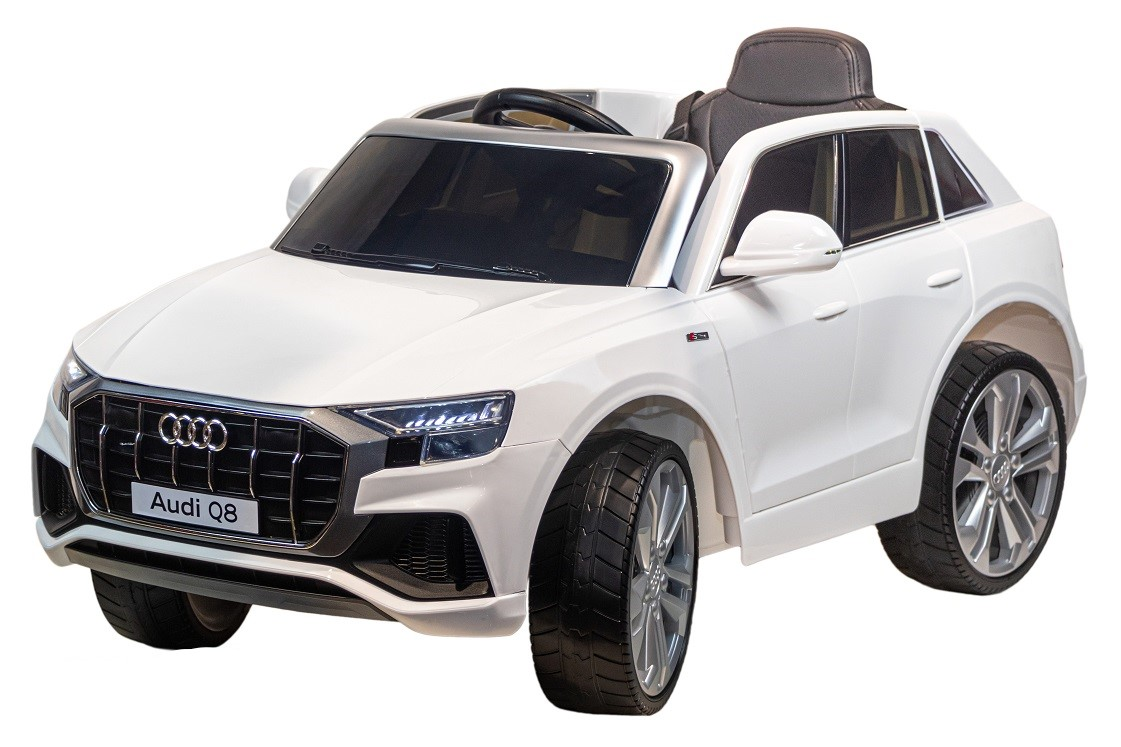 Купить Детский электромобиль Farfello Кроссовер AUDI Q8 S890 (колесо EVA, Экокожа) белый,