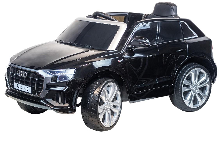Купить Детский электромобиль Farfello Кроссовер AUDI Q8 S890 (колесо EVA, Экокожа) чёрный,