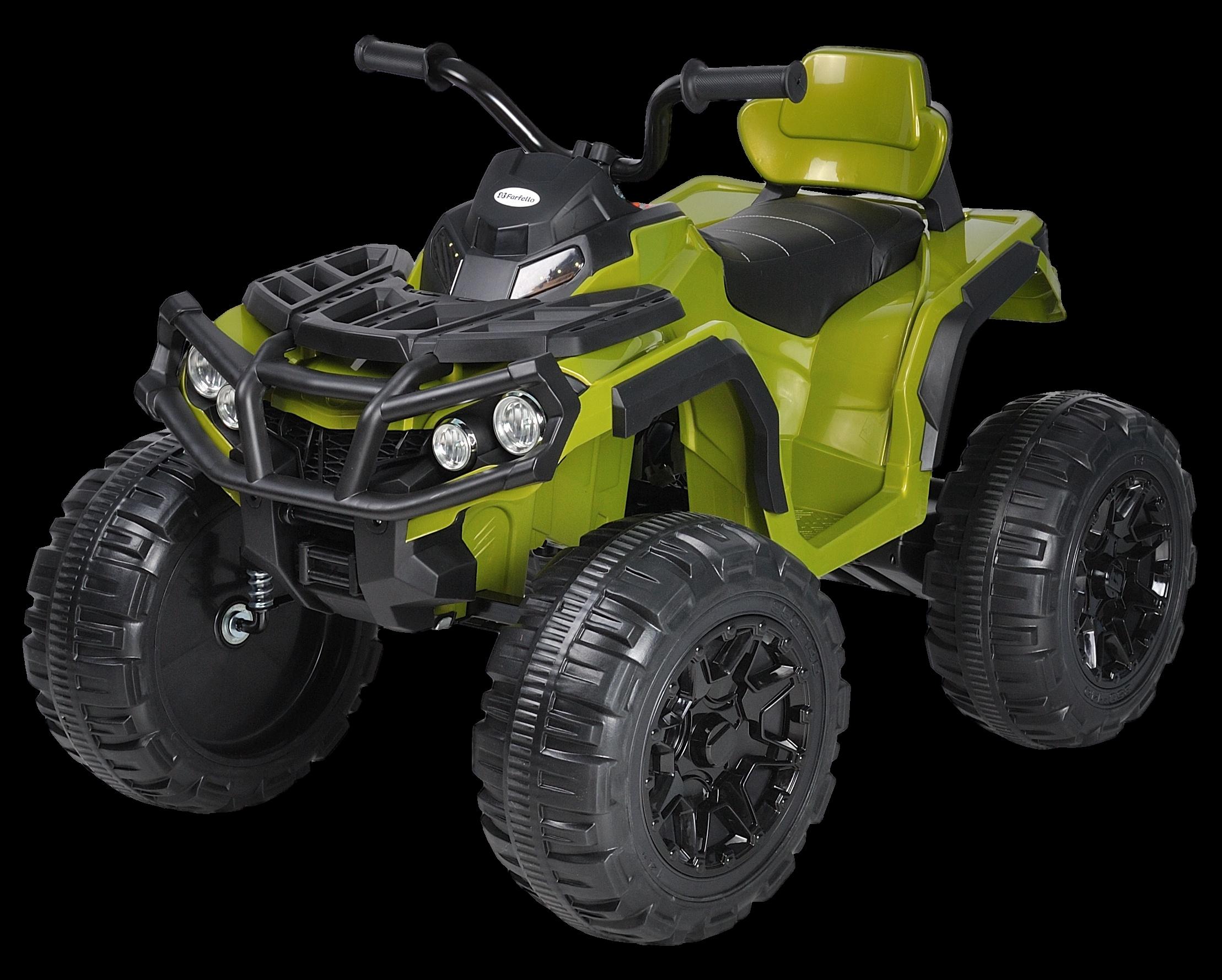 Купить Детский электромобиль Farfello (2020) S602 (12V, EVA, экокожа) Камуфляж,