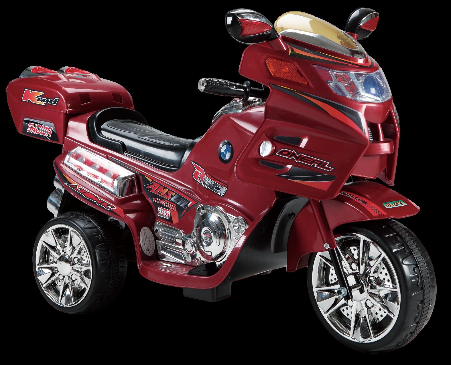 Купить Детский электромобиль Farfello (2020) HL219 (6V, колесо пластик) Красный,