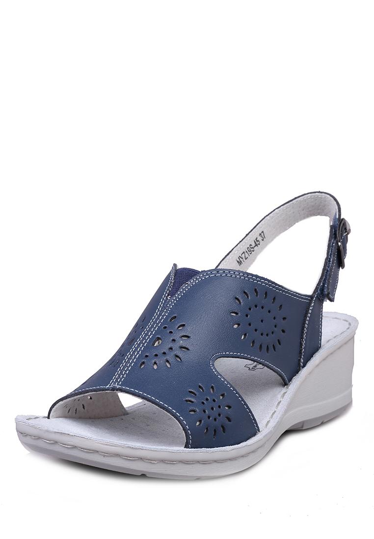 Босоножки женские Alessio Nesca Comfort MYZ19S-45 синие 39 RU Alessio Nesca Comfort   фото