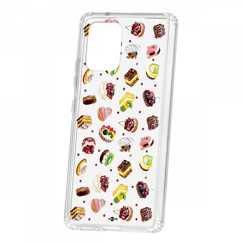 Чехол Kruche Samsung Galaxy S10 Lite Print Cake КRUЧЕ